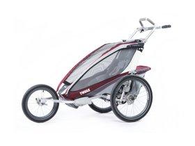Детская коляска Thule Chariot CX 1 (Burgundy) 280x210 - Фото 3